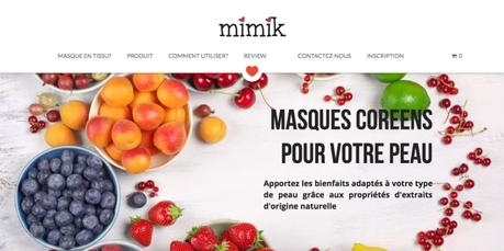 Mimik.fr, le paradis des masques en tissus.