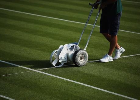 Découvrez l'évolution du gazon pendant Wimbledon