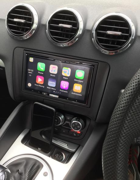 Alpine commercialise le iLX-107 le 1er récepteur Apple CarPlay sans fil