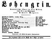 Lohengrin, texte Gérard Nerval premier Lohengrin Weimar 1850