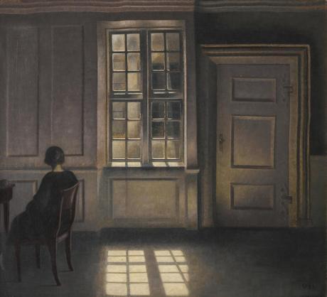 Vilhelm Hammershoi, peinture, artiste peintre, danemark