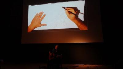Photo festival BD6Né, Matt Eliottpour le concert dessiné