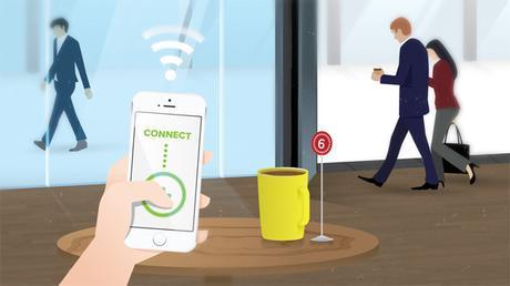 Le WiFi libre et gratuit : attention aux données personnelles