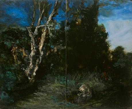 ronan barrot, claude-bernard, peinture, art-contemporain, gustave-courbet, realisme.612