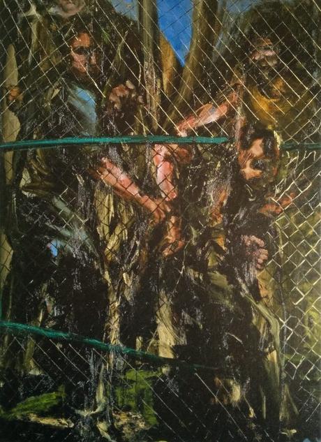 ronan barrot, claude-bernard, peinture, art-contemporain, gustave-courbet, realisme