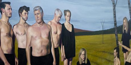 francois malingrey,painting,neo-realism,courbet,palais-de-tokyo,paris,2015,exhibtion