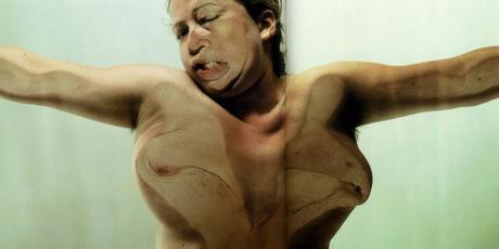 jenny saville, glen-luchford, photographye, c-print, auto-portrait, closed-contact