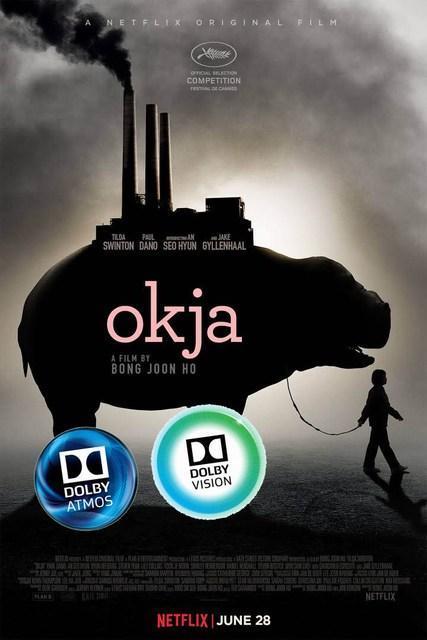 Dolby Atmos et Dolby Vision pour le film Netflix Okja