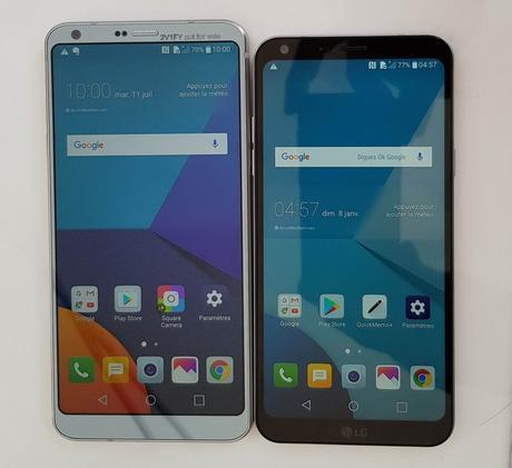 LG lance le smartphone LG Q6 avec écran FullVision au format 18/9