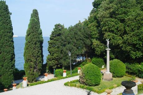 italie trieste castello miramare parc