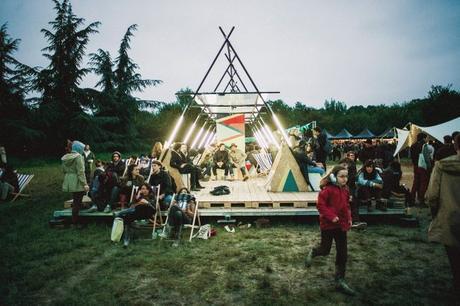 Une des œuvres conçues par les designers du festival.