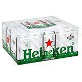 Heineken Prime Imported 5% Lager Can 12 x 330ml