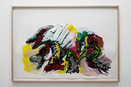 karel appel, cobra, expressionism, action-painting, humanism, painting, solo-show, pompidou, museum, 2015