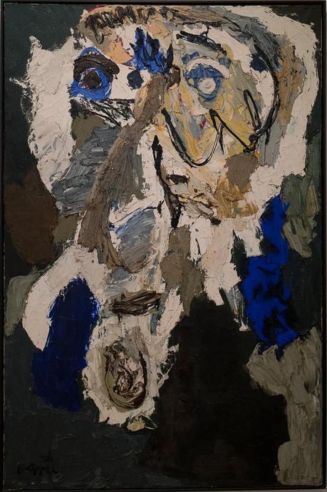 karel appel, exposition, mam, paris, france, 2017, peinture, artiste peintre, cobra