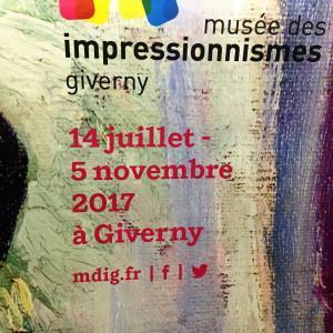 Musée des Impressionnismes (GIVERNY)   exposition MANGUIN jusqu'au 5 Novembre 2017
