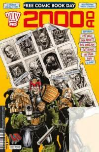 Sélection Free comic book day 2017 : Fantagraphics & 2000AD