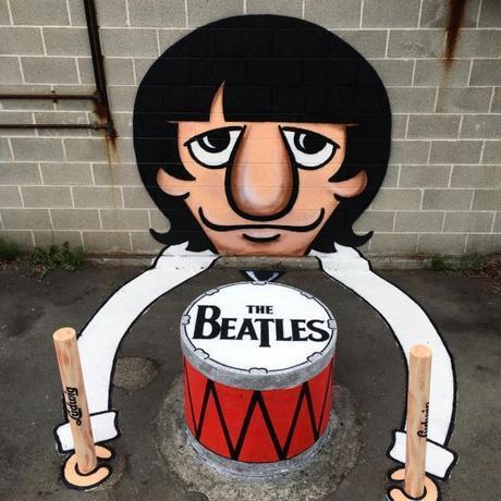 Le Street Art décalé de Tom Bob