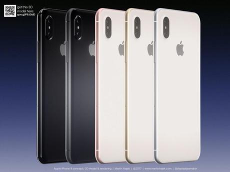 LiPhone 8 en photos et dans tous les coloris