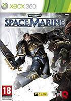 Jaquette PAL de l'édition Xbox 360 du jeu vidéo Warhammer 40,000: Space Marine