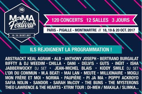 Le MaMA festival revient pour sa 8e édition du 18 au 20 octobre