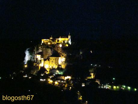 Rocamadour by night