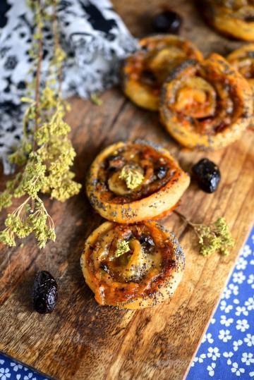 Recette bio :Feuilletés au confit de tomates séchées et mozzarella Bio Bonneterre