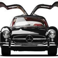 Une Mercedes-Benz 300 SL Gullwing de 1957 aux enchères