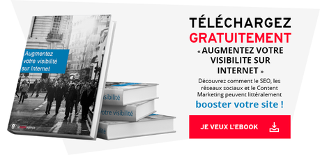 Call-to-action ebook visibilité Internet