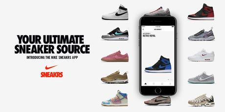 L'application Nike SNEAKRS est officiellement disponible