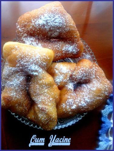 Les beignets de Christophe Félder -bugnes