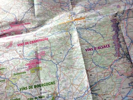 carte de france ign Découvrez la carte des vins de France IGN