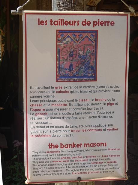 Chantier médiéval château de Guedelon - 2