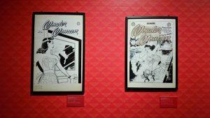 exposition tout l'art de dc comics