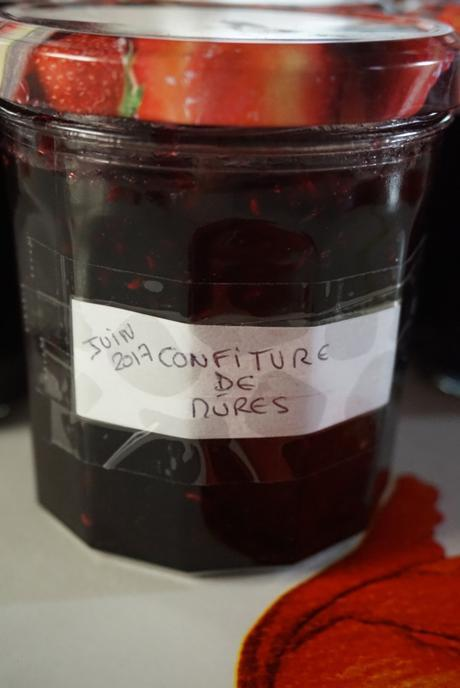 CONFITURE DE MÛRES