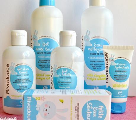 ( RIVADOUCE ) La gamme préférée des bébés à peau douce ?