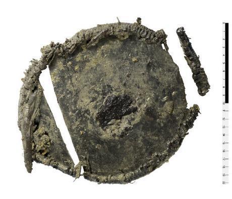 Découverte d'une boite en bois de l'âge du bronze contenant des céréales