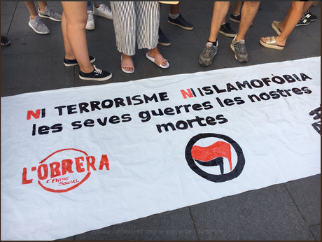 #Barcelona antifascista  !  (Ni Daesh ni Nazis !)