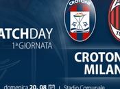 WATCH LIVE: Crotone Milan