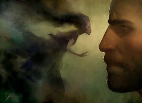 La voie des rois Kaladin et Syl illustration de Dixon Leavitt