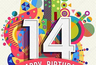 Joyeux Anniversaire Le Blog 14 Ans A Voir