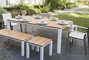 Mobilier de jardin exterieur salon jardin en resine - Paperblog