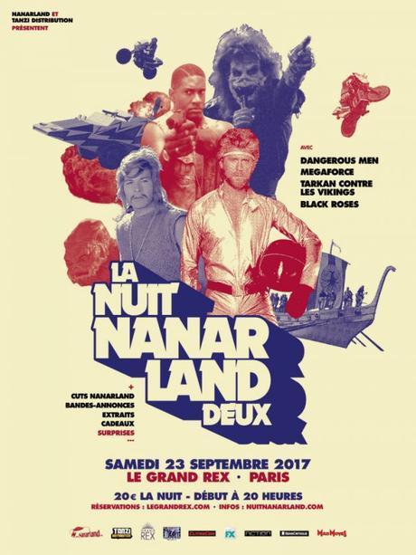 La Nuit Nanarland de retour à Paris le 23 septembre prochain