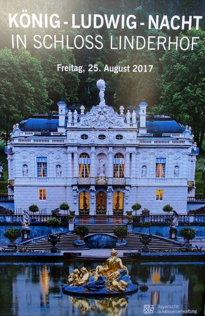 König-Ludwig.-Nacht in Schloss Linderhof. Impressions photographiques.25.08.2017.