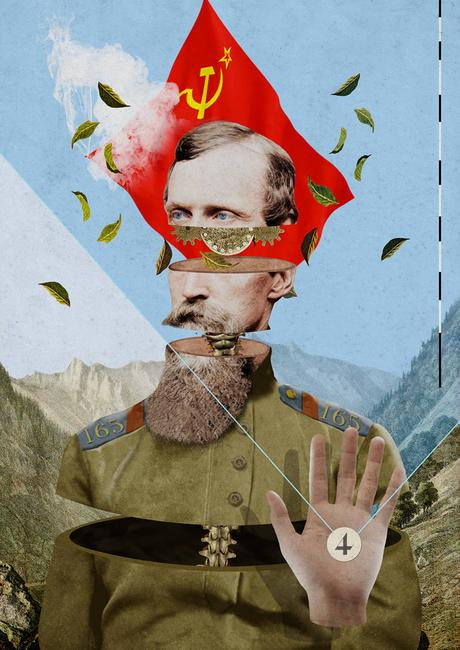 Digital collages by Laurindo Feliciano