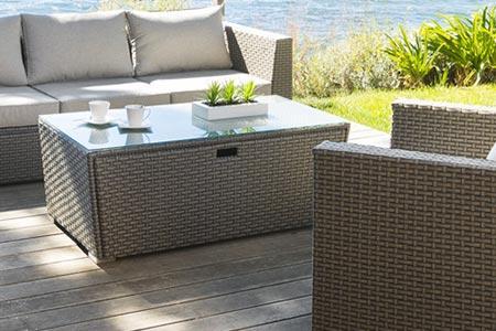 Table de salon jardin meuble exterieur pas cher | À Voir