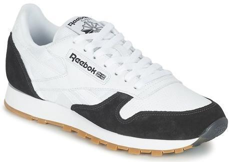 Reebok, le retour - sneakers blanches en cuir pour Hommes