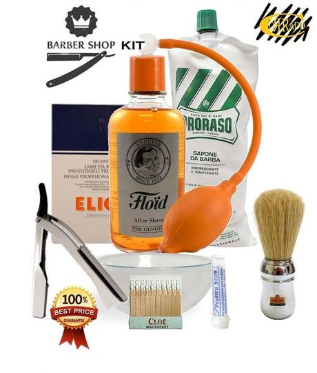 Kit rasage professionnel Old Style Barber Shop