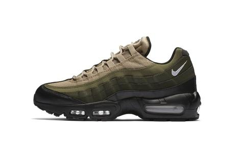 Nike Air Max 95 Olive Khaki Black