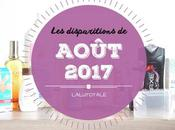 disparitions Août 2017
