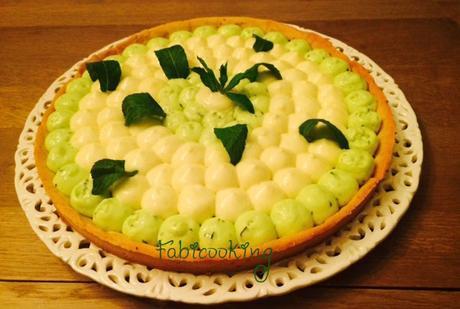 Tarte au citron vert et menthe Mojito